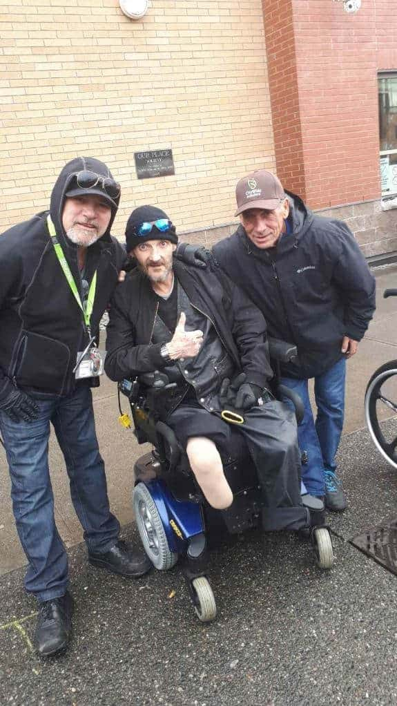 Power Chair donation